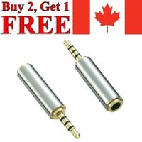 3.5mm Male to 3.5mm Female Audio Jack Stereo Headphone Adapter Converter