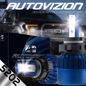AUTOVIZION LED 6K Foglight kit 5202 12086 H16 2007-2014 Chevrolet Suburban 1500