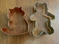 Collectible cookie cutters set of 2