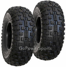 Tires Go-kart ATV Minibike, 145/70-6 Knobby Tires 4915 - Set of 2