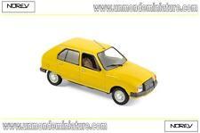 Citroën Visa Club 1979 Mimosa Yellow NOREV - NO 150940 - Echelle 1/43