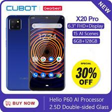 Cubot X20 Pro 6+128GB 4G Phone Android 9.0 Helio P60 4000mAh 15 AI Scenes 2*Sim