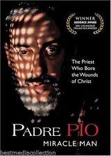 SEALED - Padre Pio DVD NEW Miracle Man SERGIO Castellito BRAND NEW