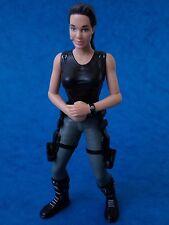"Toy Figure - LARA CROFT - Playmates Toys Tomb Raider 2001 Approx 6"""