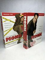MONK, TV Series, SEASON 1 AND SEASON 2 DVDs
