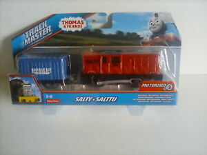 Thomas & Friends TrackMaster Motorised Train Salty and Truck set. (C1)