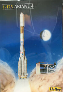 ARIANE 4 by HELLER 1:125 SCALE RARE & HARD TO FIND #80440 FACTORY SEALED IN BOX