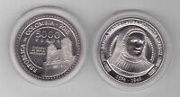 COLOMBIA - NEW ISSUE 5000 PESOS UNC COIN 2015 YEAR SANTA MADRE LAURA