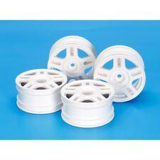 Tamiya 54674 Rc White Split 5-spoke Wheels - 26mm Width/+2 Offset (4 Pieces)
