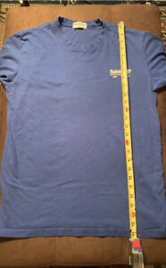 Balenciaga Blue Campaign Logo T Shirt Sz Lg