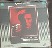 Tightrope Laserdisc