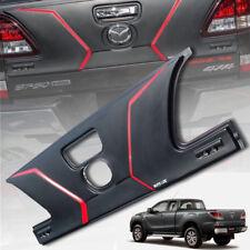 MATTE MATT BLACK COVER REAR TAILGATE WITH LEDs FOR MAZDA BT-50 BT50 2012 15 18