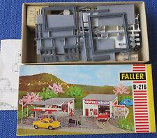 Faller AMS B-216 Station-service/Station de lavage, 60er Jahre Objet collection