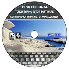 Professional Touch Typing Tutor Software Learn Typing Faster And Accurately DVD