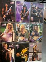 1998 Xena Topps Trading Cards 1-72 Series Two Complete Mint in Sleeves
