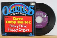 """7"""" - DAVE """"BABY"""" CORTEZ - Rinky Dink - Happy Organ"""
