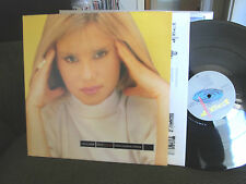 Virna Lindt Play/Record rare LP '85 synth pop original german nm w/lyric inr oop