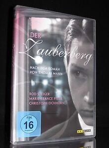 DVD DER ZAUBERBERG - nach dem Roman von THOMAS MANN - ROD STEIGER *** NEU ***