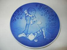 Bing & Gröndahl Kinderteller 1985: Ein Tässchen unter Freunden -Erstausgabe-