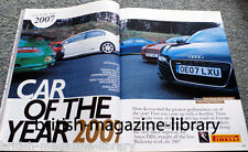 Evo Magazine 112 Car of the Year 2007 + Maserati 250F Lexus IS-F Pagini Zonda F