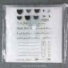 Close to my Heart C1618 Year >>Noted CTMH Acrylic Stamps Set NEW Calendar Months