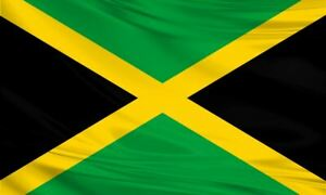 Jamaican Flag 5x3/150x90cm Large Polyester Caribbean Island Carnival Reggae
