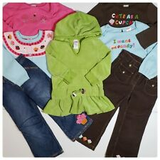 Vintage Cupcake Cutie Outfit Cardigan Tee Jeans Pants Tunic Girls 3T LOT 7pc