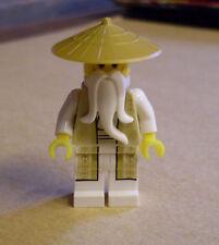 LEGO Ninjago personaggio-Sensei Wu (70751 MAESTRO NINJA BIANCO MASTER sennsei) NUOVO