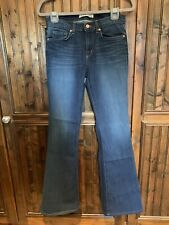 NWOT J Brand Flared Mid Rise Jeans Size 28 Classic Blue
