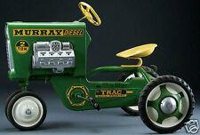 Vintage Murray TRACTOR, Kids Pedal Car, Flat Flexible Refrigerator Magnet