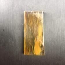 RARE Semi Precious Stone Natural Tiger Fused Quartz Crystal Pendant 48.5CT