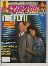 Starlog Mag The Fly II Eric Stoltz March 1989 No.140 121319nonr