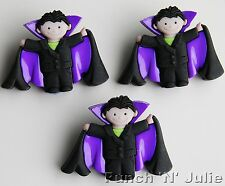 DRACULA BOY-Halloween poco Vampire Fancy dress IT UP Novità CRAFT pulsanti