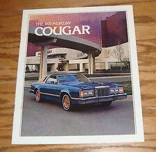 Original 1979 Mercury Cougar Sales Brochure 79 XR-7