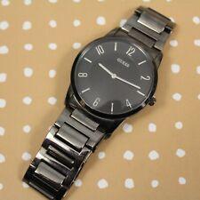 Guess Men's U11651G1 Steel Gunmetal Japan Movement Water Resistant Wrist Watch