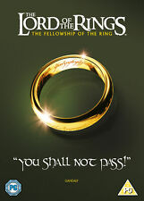 The Lord Of The Rings: The Fellowship Of The Ring [2013] (DVD)