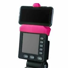 New Pink Phone Holder Made for Concept 2 Rowing Machine, SkiErg and BikeErg. Mad