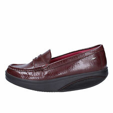 women's shoes MBT 5 / 5,5 (EU 36) loafers brown patent leather AB214-36