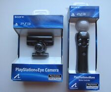 Sony Playstation 3 PS3 OEM Move Bundle / One Controller + PS Eye Motion Camera