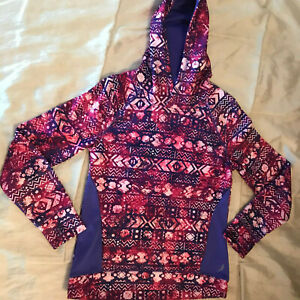 Exertek Multi-Colored Exercise Hoodie - Girls Size 14 - Stunning!