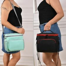 Thermal Insulated Lunch Bag Outdoor Travel Picnic Lunch Box Tote for Women Men