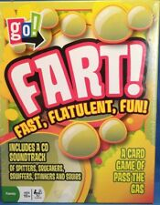 Fart Party Game CD with CD soundtrack New In Box - Hilarious!
