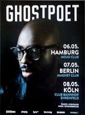 GHOSTPOET - 2015 - Tourplakat - Concert - Shedding Skin - Tourposter