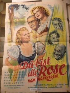 DU BIST DIE ROSE VOM WÖRTHERSEE - german Heimatfilm / Waltraud Haas