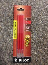 Pilot Refills Frixion Erasable Gel Ink Pen Fine Point 07mm Red 77332