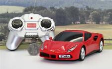 PERSONALISED PLATES 1/24 Radio Control Red Ferrari Boys Toy Car Xmas Present Box
