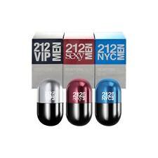 Carolina Herrera 212 New York Pills Fragrance Set for Men, NEW + SEALED