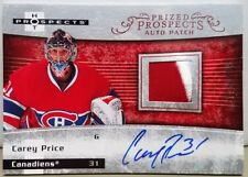 2007-08 Hot Prospects Carey Price Patch Auto RC #124/199