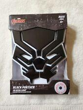 Marvel Avengers Black Panther 3D Desk Lamp  New In The Box
