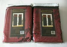 """Imperial Palace Two Window Panels *50"""" X 84"""" LINED PANEL*  """"NEW"""""""